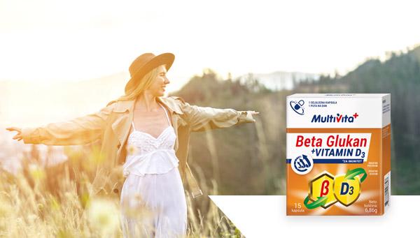 Beta Glukan + Vitamin D3 kapsule