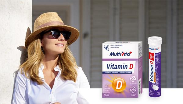 Vitamin D kapsule i Vitamin D 1000 IU šumeće tablete
